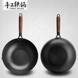 章丘铁锅手工老式炒锅