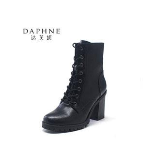 Daphne/达芙妮欧美PU短靴