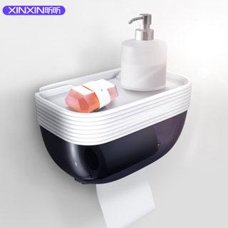 免打孔卫生间厕所纸巾盒