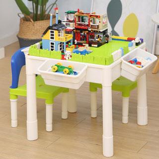 儿童益智拼装多功能积木桌