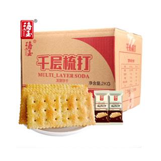 海玉苏打饼干2KG整箱