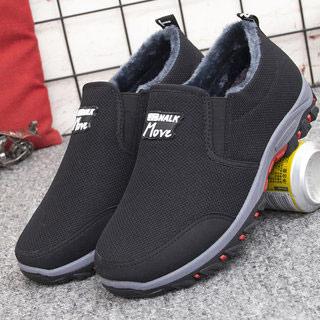 男士棉鞋冬季加绒鞋