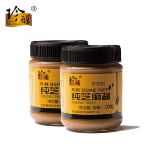 珍醇纯芝麻酱200g*2
