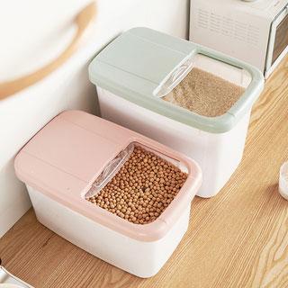 可视防虫防摔密封储米桶