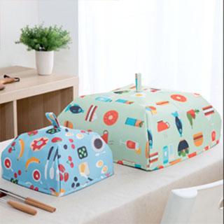 家用防尘罩折叠餐桌罩