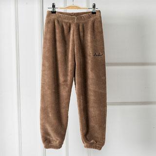 雅鹿冬季加绒加厚暖暖裤