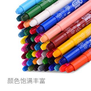聪明象儿童蜡笔12色