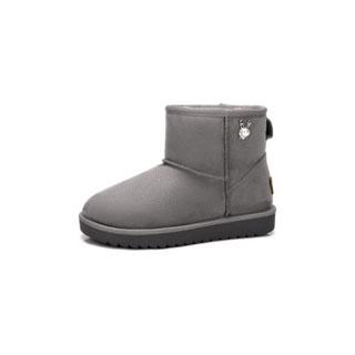 2018加绒加厚雪地靴棉鞋