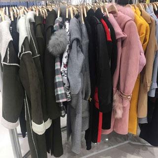 2018秋冬女装毛衣棉服