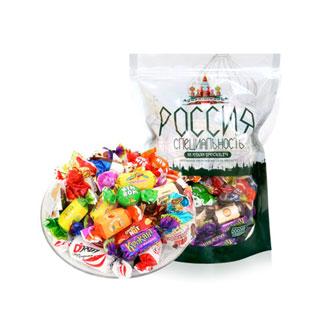 俄罗斯进口糖果混装500g
