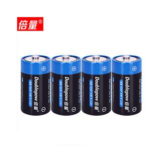 倍量4節干電池1號碳性電池