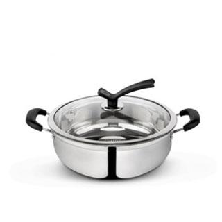 汤锅不锈钢锅30cm家用火锅通用