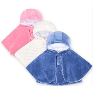 宝宝斗篷披风儿童婴儿春秋季外套披肩