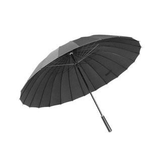 24骨超大长自动晴雨伞