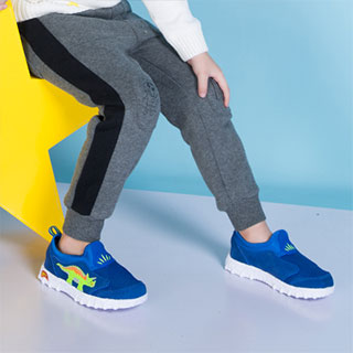 迪乐龙2018新款男童网面鞋