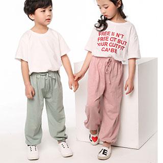 儿童防蚊裤薄款灯笼裤