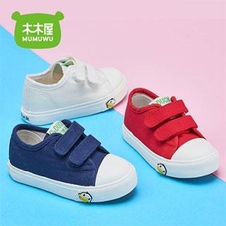 2018春季新儿童帆布鞋