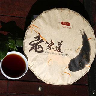 云南普洱陈年浓香型茶饼