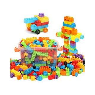 益智拼装积木玩具200颗
