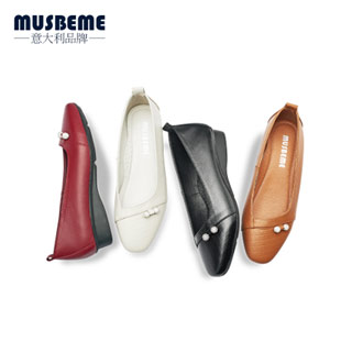 浅口单鞋平底防滑中年女鞋