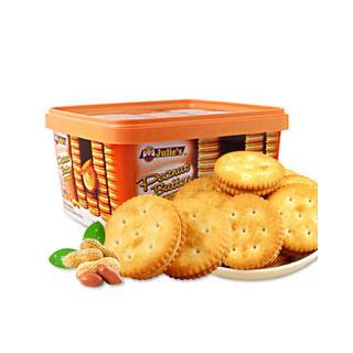 花生酱进口夹心饼干540g/盒