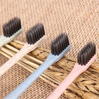 抑菌超细软小麦秸秆牙刷