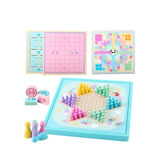 飞行棋五子棋等益智玩具
