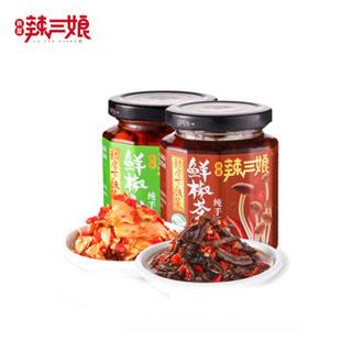 辣三娘鲜椒山笋+茶菇2瓶
