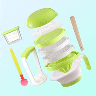 宝宝辅食手动研磨碗套装
