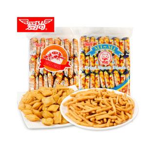 咪咪虾条蟹味粒薯片20包