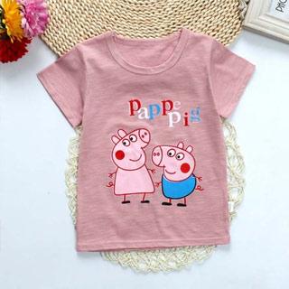 小猪佩奇纯棉宝宝短袖t恤