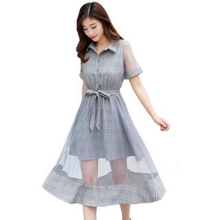 夏装ins超火的连衣裙