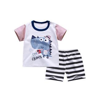 儿童短袖套装宝宝T恤