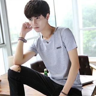 夏季纯棉男士短袖T恤
