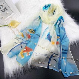 春夏时尚小丝巾围巾