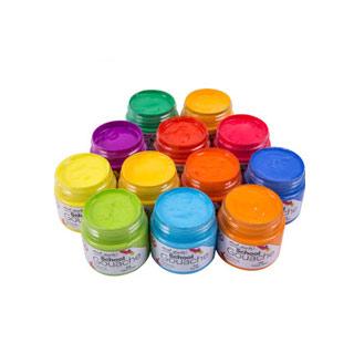 蒙玛特12 24色瓶装水粉