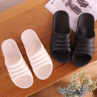 树脂防滑软底情侣拖鞋