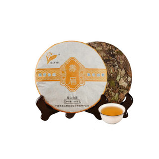 福鼎白茶茶饼350g