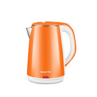 索爱电热水壶不锈钢2.2L