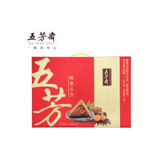 五芳斋肉粽6口味12粽