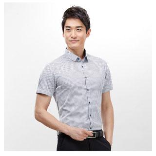 品牌剪标男士半袖衬衫