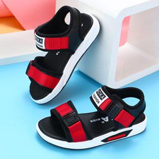 男童软底凉鞋6-9岁