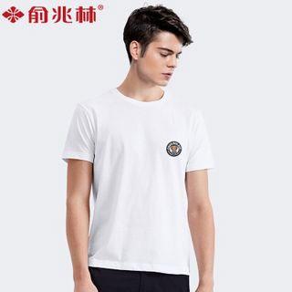 俞兆林纯棉男士短袖T恤
