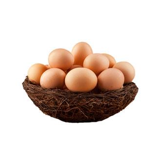 狼山鸡土鸡蛋散养30枚