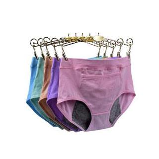 纯棉生理内裤中高腰3条