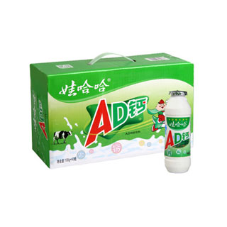 娃哈哈AD钙奶100ml*40瓶