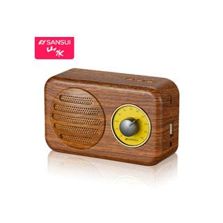 山水无线蓝牙音箱收音机