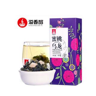 蜜桃乌龙茶三角茶包