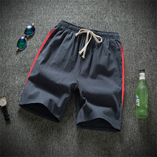 亚麻短裤或棉麻T恤