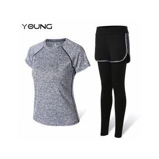 女款瑜伽服运动套装